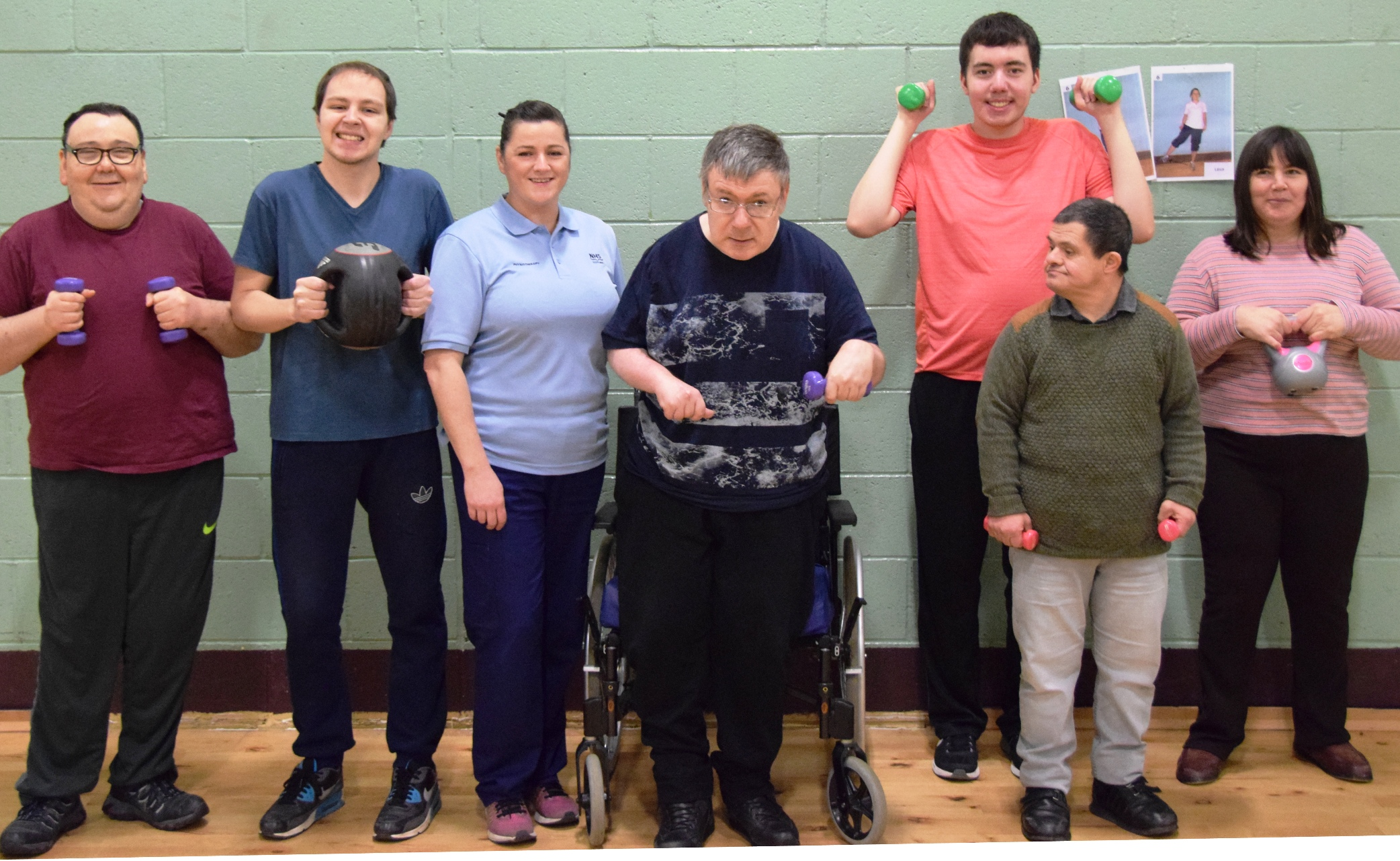 Specially designed exercise classes an ideal fit for adults with a learning disability