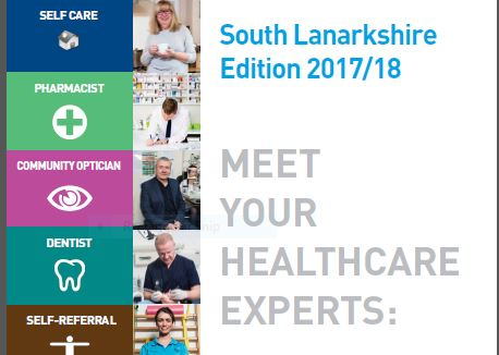 Latest Lanarkshire healthcare guide is available to download now