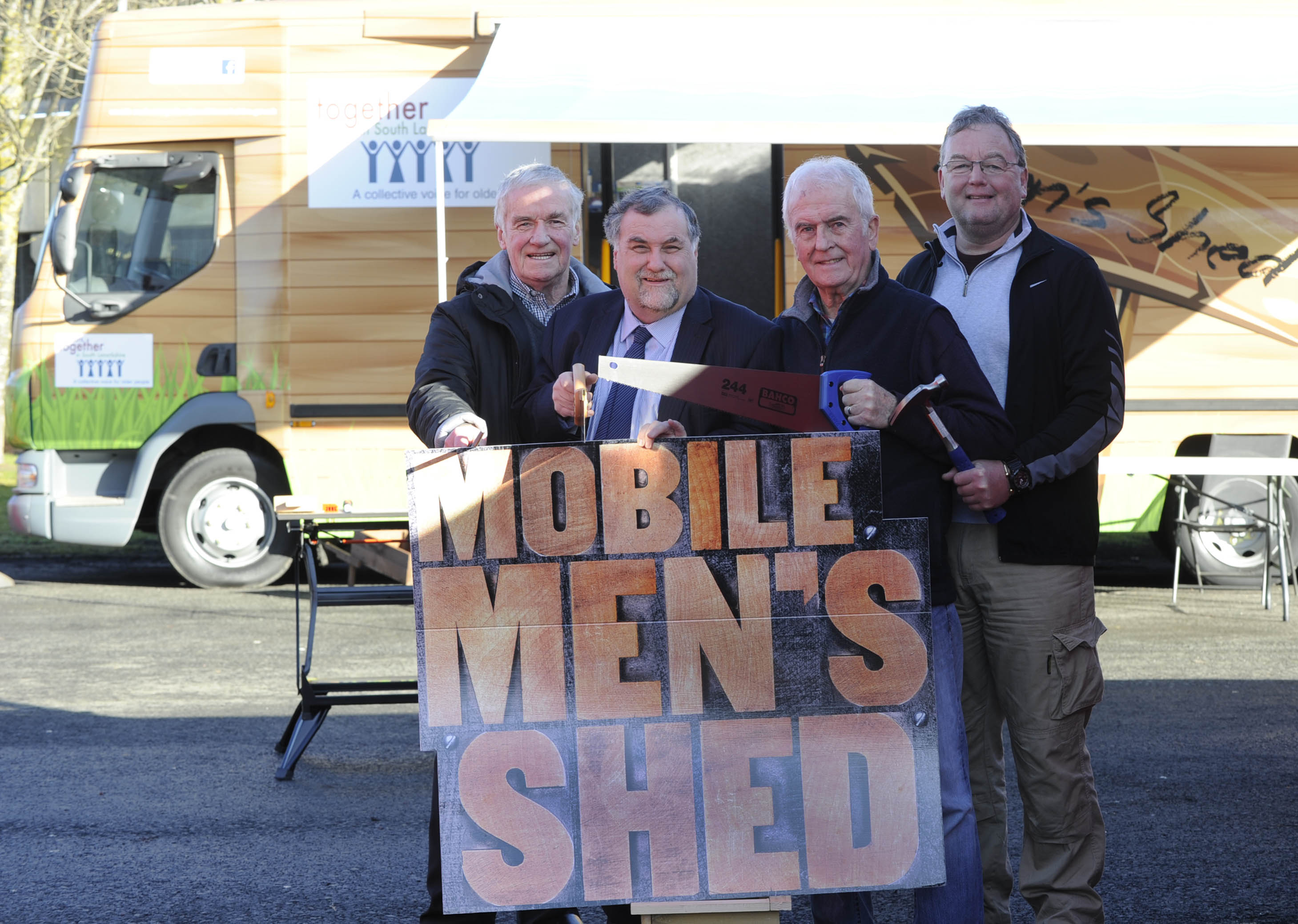 Mobile Mens Shed takes to the road