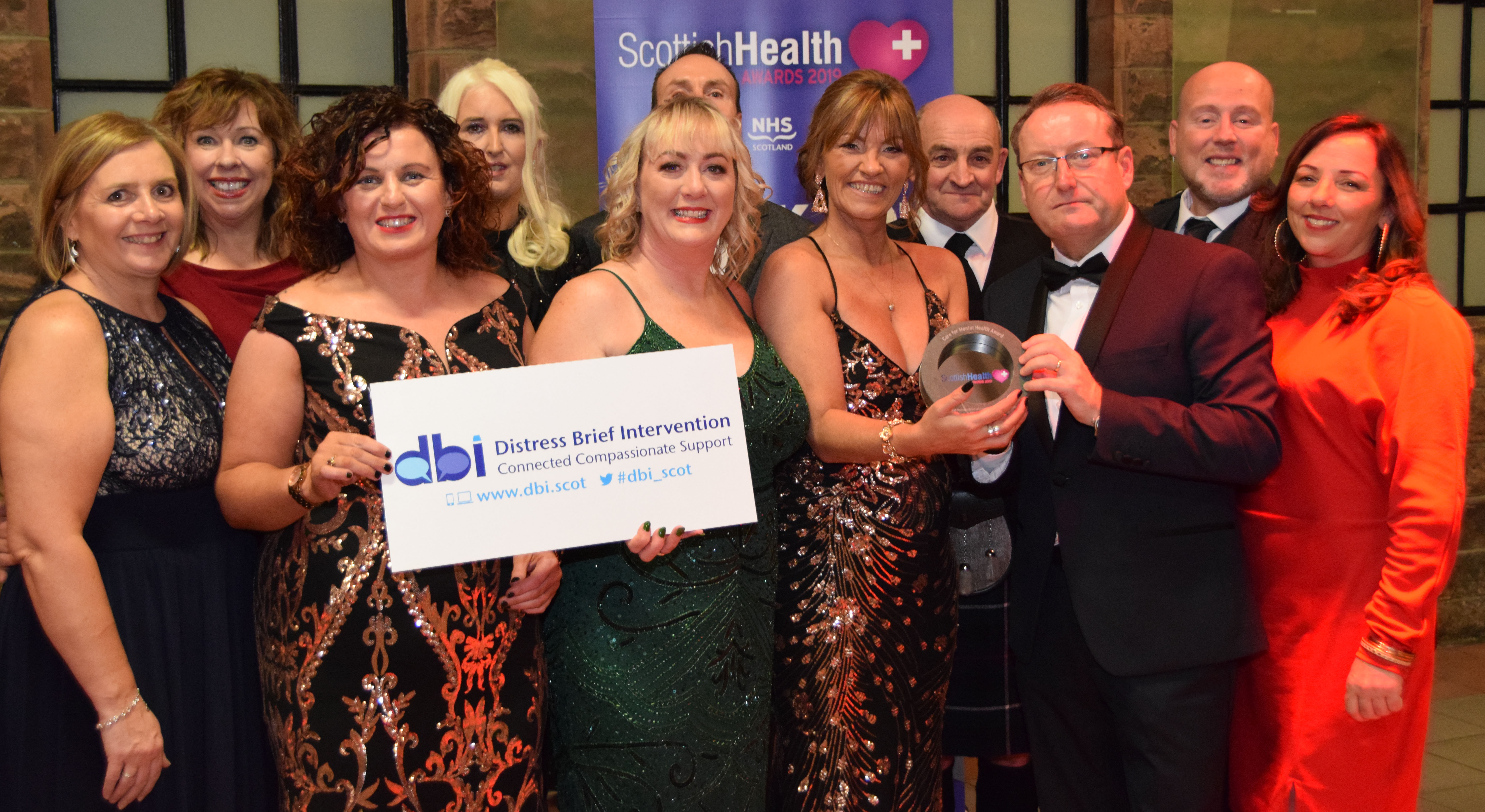 SLC Lanarkshire mental health project wins Scottish Health Award